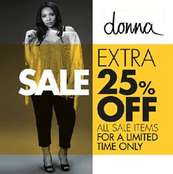 Donna deals in the Cape Town special