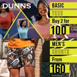 Dunns offers in the Dunns catalogue ( 4 days left)