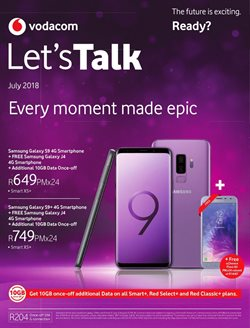 Vodacom deals in the Pretoria special