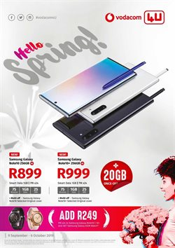 Vodacom deals in the Durban special