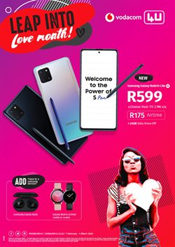 Valentine's Day offers in the Vodacom catalogue ( 7 days left)