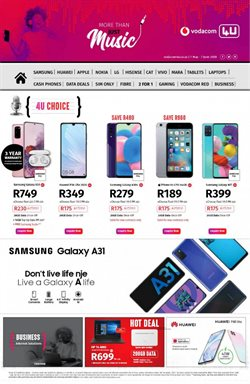 Huawei specials in Vodacom