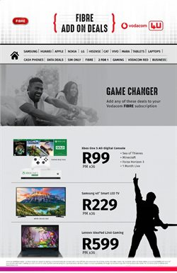 Xbox One specials in Vodacom
