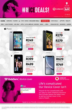 Iphone 7 specials in Vodacom