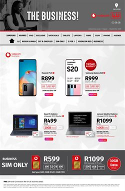 Hard drive specials in Vodacom