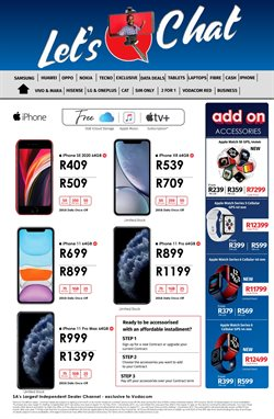IPhone 11 pro specials in Vodacom