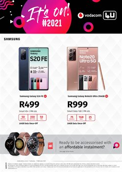 Vodacom catalogue in Cape Town ( Expired )