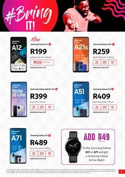 Samsung Galaxy Note 10 specials in Vodacom