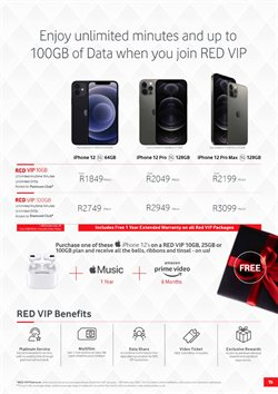 Platinum specials in Vodacom