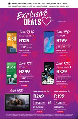 Always Save specials in Vodacom