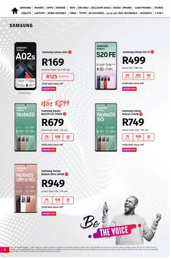 Electronics & Home Appliances offers in the Vodacom catalogue ( 22 days left )