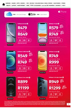 IPhone X specials in Vodacom