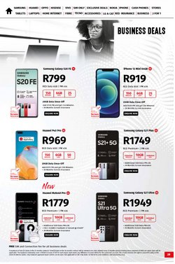 Electronics & Home Appliances offers in the Vodacom catalogue ( 13 days left )