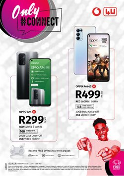 Electronics & Home Appliances offers in the Vodacom catalogue ( 23 days left)