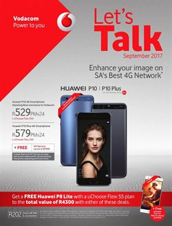 Vodacom deals in the Cape Town special