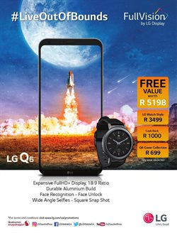 Smart watch offers in the Vodacom catalogue in Cape Town