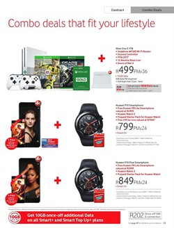 Xbox offers in the Vodacom catalogue in Cape Town