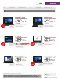 Computer offers in the Vodacom catalogue in Cape Town