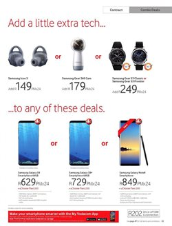 Computing accessories offers in the Vodacom catalogue in Cape Town