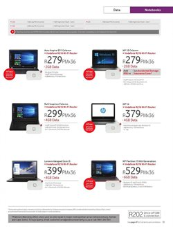 Laptop offers in the Vodacom catalogue in Klerksdorp