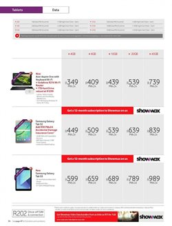 Acer offers in the Vodacom catalogue in Cape Town