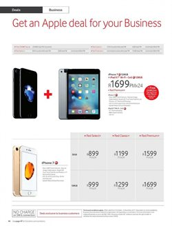 Apple products offers in the Vodacom catalogue in Cape Town