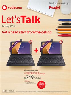 Laptop offers in the Vodacom catalogue in Cape Town