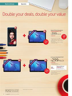 Tablet offers in the Vodacom catalogue in Cape Town