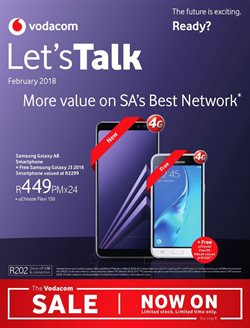 Vodacom deals in the Kimberley special