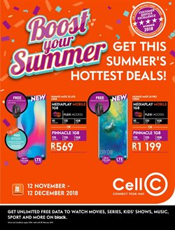 Electricals & Home Appliances offers in the Cell C catalogue in East London