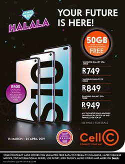 Electricals & Home Appliances offers in the Cell C catalogue in Cape Town
