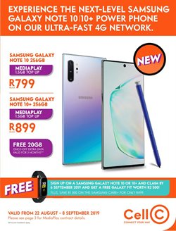 Cell C deals in the Durban special