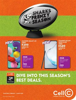Cell C catalogue in Port Elizabeth ( 4 days left )