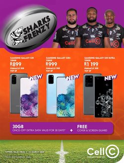 Cell C catalogue in Cape Town ( Expires tomorrow )