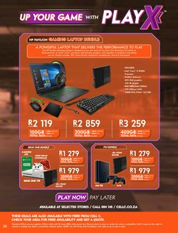 Keyboard specials in Cell C