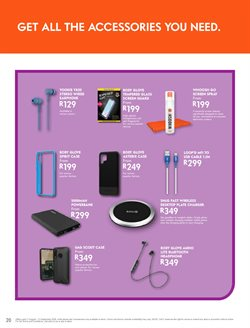 Chargers specials in Cell C