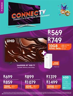 Cell C catalogue in Cape Town ( More than a month )