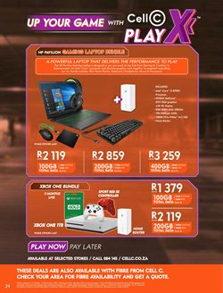 Intel specials in Cell C