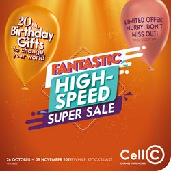 Cell C catalogue ( Published today)