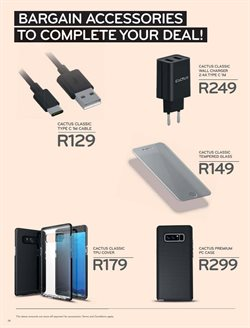 Chargers offers in the Cell C catalogue in Cape Town