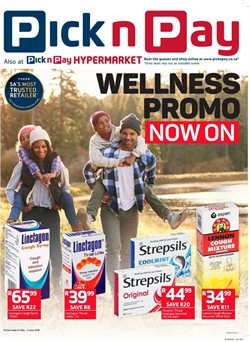 Pick n Pay Pharmacy deals in the Pretoria special