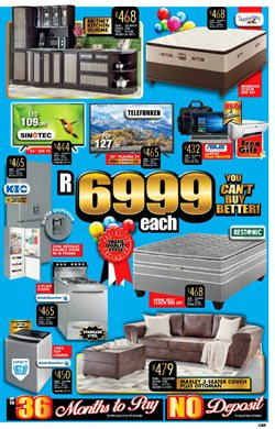 Printer offers in the Lewis catalogue in Cape Town