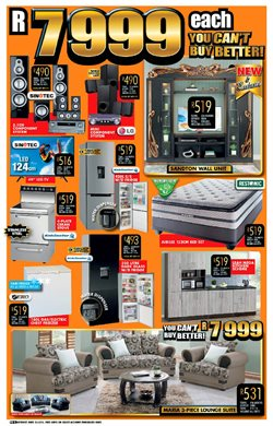 TV offers in the Lewis catalogue in Cape Town