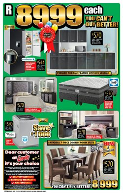 Mirror offers in the Lewis catalogue in Cape Town