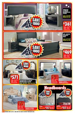 Headboard offers in the Lewis catalogue in Cape Town