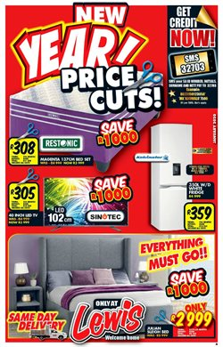 Home & Furniture offers in the Lewis catalogue in Cape Town