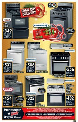 Gas stove specials in Lewis