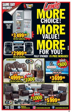 Home & Furniture offers in the Lewis catalogue ( 9 days left)