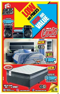 Home & Furniture offers in the Lewis catalogue ( 28 days left)