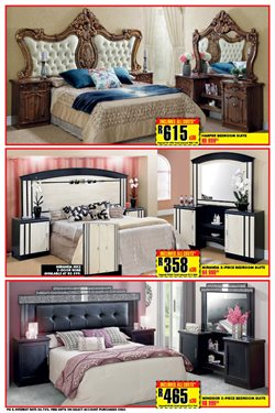 Double bedroom offers in the Lewis catalogue in Cape Town
